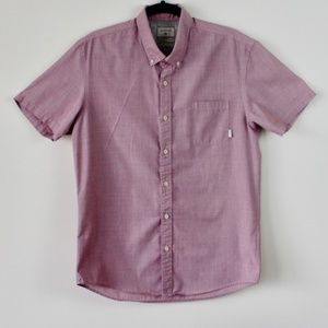 Quicksilver Short Sleeve Button Down Shirt